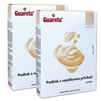 Guareta pudink s vanilkovou příchutí - 2 balení