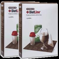DietLine PROTEIN 20 proteinový kokteil  čoko - 2 balení